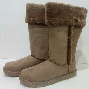 Arizona Jean Co. Suede Brown Winter Boots